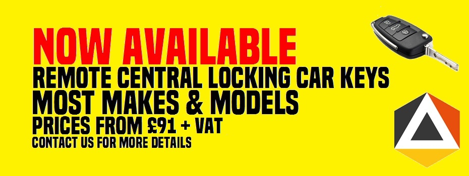 Remote Central Locking Car Keys